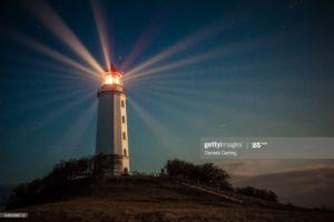 Lighthouse for destination