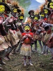 Tribes of Papa New Guinea