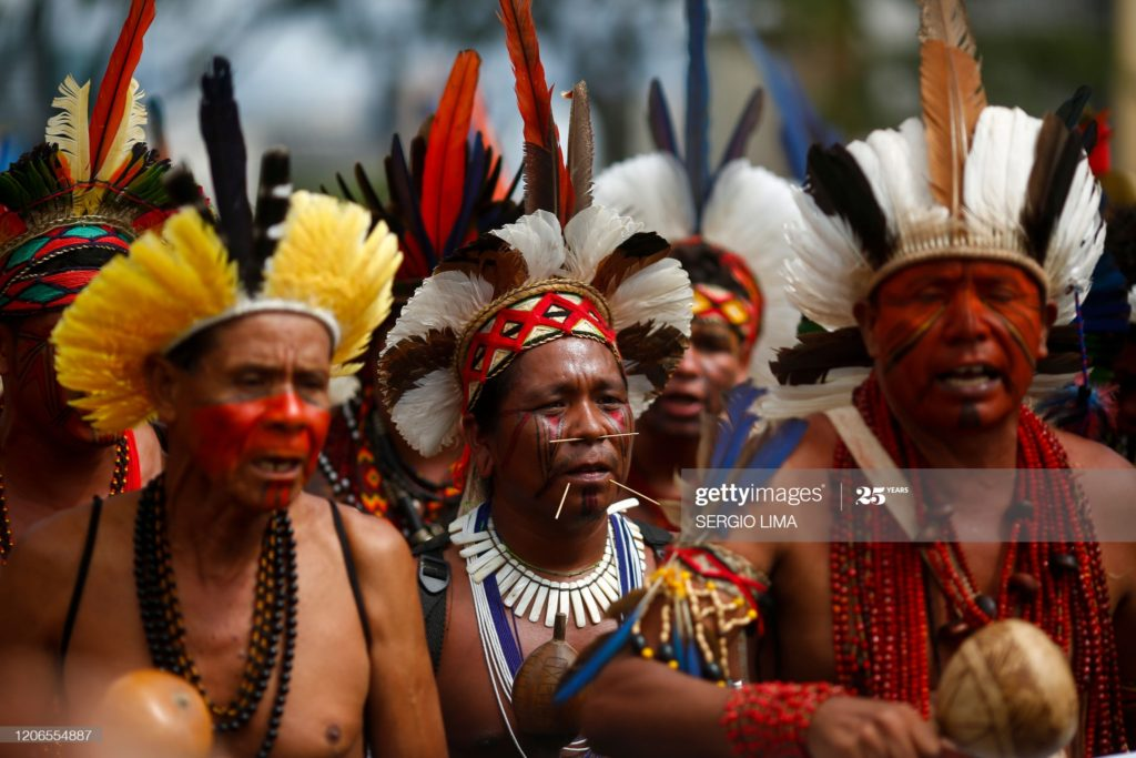 Papa New Guinea tribes