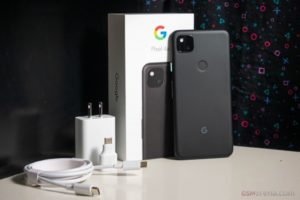 pixel 4a - with box