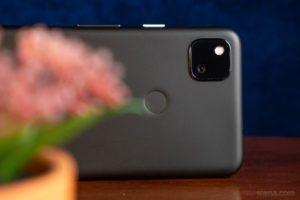pixel 4a - camera